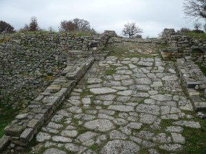 This is the remains of a road in ancient Troas, the very road that Paul and Silas may have traveled during Paul's second missionary journey.