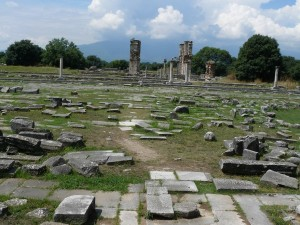 Just a very small sample of some of the ruins of ancient Philippi.