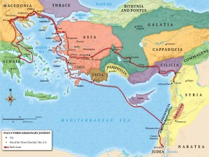 Paul's Third Missionary Journey - Today's story takes place in Ephesus, which is in modern-day western Turkey.