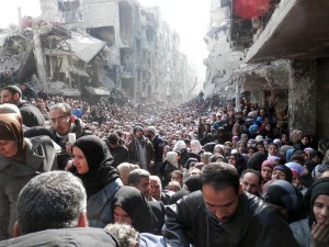 If anyone understands chaos, it is the people suffering persecution and hardship in Syria today.
