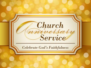 Church Anniversary Service